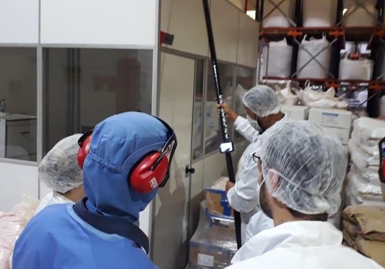 SpaceVac Arrive in Brazil