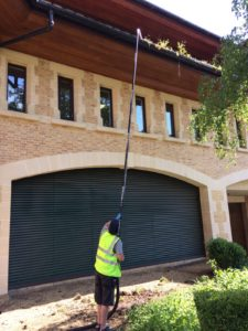Gutter cleaning equipment