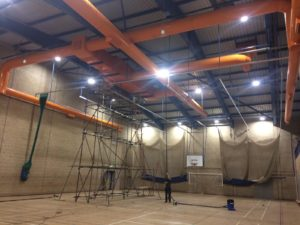 Atex high reach cleaning system in action -image 2