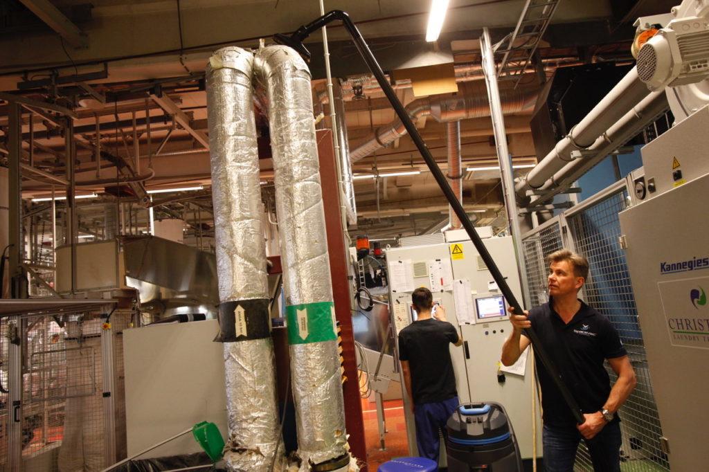 ATEX Vacuum Cleaning System